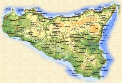 Stampa Cartina Sicilia.I Parchi Nazionali Della Sicilia Pianeta Gaia Terranauta It