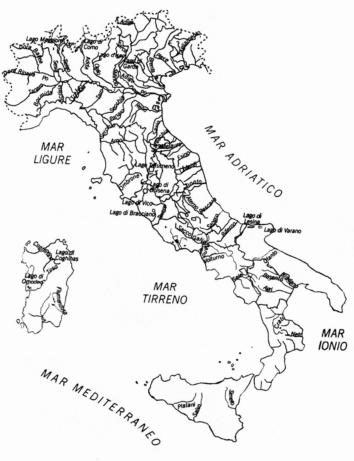 Cartina Fisica Dell Europa Da Colorare.Cartina Muta Fiumi Italia Yahoo