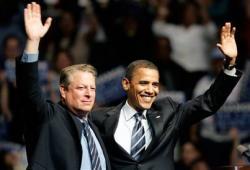 Barack Obama e Al Gore