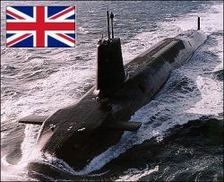 Il sottomarino nucleare inglese Vanguard