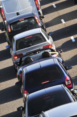 Auto in fila